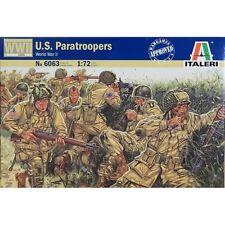 1/72 MILITAIRE WWII 48 Figurines soldats US PARACHUTISTES ref 6063