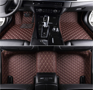 Car Mats For JAGUAR F Type Coupe Driver position and co pilot.2 piece