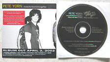 Pete Yorn / Lorien – Musicforthemorningafter / Under The Waves  Promo  CD