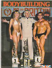 BODYBUILDING MONTHLY muscle mag/Jimmy Saville/Terry Phillips vol 2#10 7-79 UK