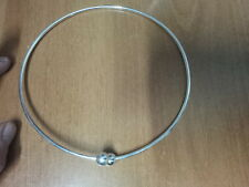 collana bagno  argento indiano RIGIDA ARTICOLO indian silver plated