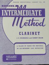 Rubank Intermediate -Clarinet (Rubank Educational Library)