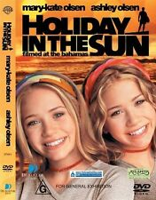 Mary Kate and Ashley Olsen TWINS - DVD - holiday in the sun - REGION 4 AUSTRALIA
