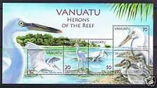 Vanuatu 2007 gli Aironi della scogliera M.S. SG 994 Gomma integra, non linguellato