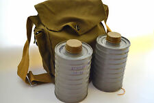 Vintage Gas Mask Two Filters GP4U, GP-4U / ГП-4У in Bag Soviet Russian USSR 1968