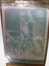2001 FLEER FOCUS  KOBE BRYANT SUPER RARE PRINTING PLATE 1/1