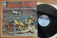 HANNA BARBERA JAMES BOMB 007 SUPER SNOOPER HBR HLP 1 RARE 1965 VINYL LP EX