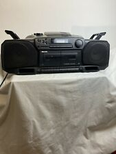 Philips Az8304/25 55w Retro boombox ghetto blaster Cd/tape/radio Turbo Bass