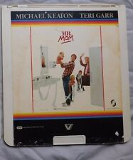 CED VideoDisc  MR MOM 1983 vestron video Michael Keaton Teri Garr