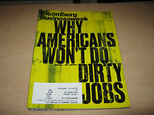 Bloomberg Businessweek Magazine - Dirty Jobs - November 14-20, 2011