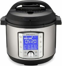Instant Pot Duo Evo Plus Pressure Cooker 9 in 1,  6 Qt, 48 One Touch Programs