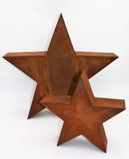 Weihnachtsstern Rost in 3D,  Metalldeko von Rosikal, Edelrost Stern