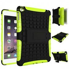 Hybrid Outdoor Skin Case Cover Green for iPad Mini 4 7.9 Inch Case New