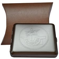 F.C. Hansa Rostock Zigarettenetui Silber / Chrom Geschenkbox Zigarettenbox_Hansa