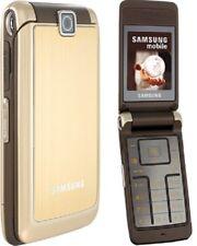 Telefono Cellulare Samsung S3600 ORO 2G GSM Camera ORIGINALE RICONDIZIONATO