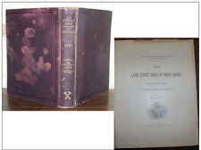 C1 USA Fossiles NEWBERRY The Later Extinct Floras North America 1898 ILLUSTRE