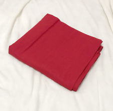 IKEA Solid Red RITVA Curtain, 57 x 98 inch, Lowers Light, One Panel Only
