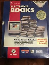 LOGOS Electronic Books Catholic Answers Collection CD ROM Sealed Multimedia
