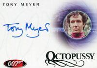 James Bond in Motion 2008 Tony Meyer as Mischka Autograph Card A86