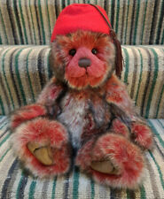 'tc' Limited Edition Collectable Teddy Bear by Charlie Bears - CB185165
