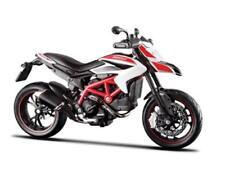1/12 Maisto 2013 Ducati Hypermotard SP Bike Motorcycle White 13015