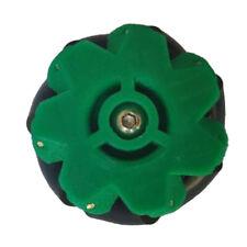 Omni Wheel Mecanum Wheels mit Kupplung ausgestattet mit 3/4/5/6/7mm Grün/7