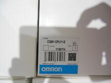 OMRON CPU CQM1-CPU11-E FREE EXPEDITED SHIPPING CQM1CPU11E NEW