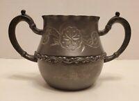 Vintage Superior Silver Plated Quadruple Trophy 2 handle Cup