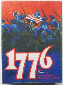 1776. Avalon Hill American Revolution War of Independence Wargame.