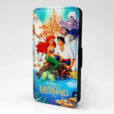 For Apple iPod Touch Flip Case Cover Little Mermaid Poster - T1144