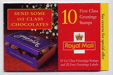 GB 1998 CHOCOLATES GREETINGS STAMPS BOOKLET KX11