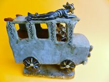 REDUCED!!!  Vintage Mexican Ocumicho 3 Devils Delivery Truck Museum Masterpiece