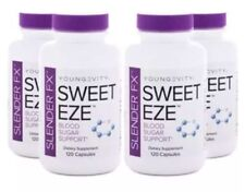 Youngevity Slender Fx Sweet Eze - 120 capsules (4 Pack) Free Shipping & No Tax
