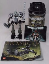LEGO Bionicle Toa Mata 8535: Lewa, PARTS includes manual and canister
