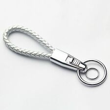 New Fashion Silver Key Chain Ring Keychain Men Women Gift For All Vehicles