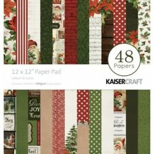 Kaisercraft Christmas Letters to Santa Paper Pad 12x12 48 Pages - Nini's Things