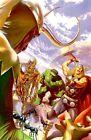 Marvel Avengers #1 Realism Cover Canvas Fine Art Loki Ant-Man Wasp Iron Man Thor