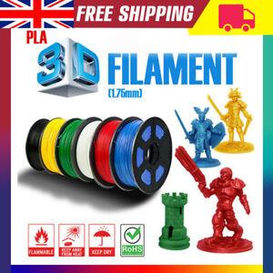 Premium 3D Printer Filament 1KG1.75mm PLA+/PLA PETG TPU Printer Office Tool UK