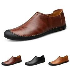Men Driving Moccasins Pumps Slip on Loafers Slip on Leisure Faux Leather Shoes L