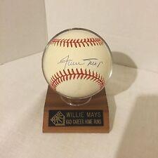 Willie Mays Autograph Baseball  ( Ken Goldin Score Board )