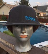 SUBARU RALLY TEAM USA Snap Back Hat Ball Cap Racing Driving