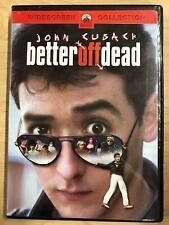 Better Off Dead (Dvd, 1985, Widescreen) - G0906