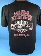 Harley Davidson SAVANNAH GEORGIA Dealership T-Shirt (M)