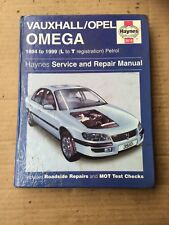 Vauxhall/Opel Omega Haynes Workshop Manual