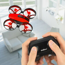 Red UDI U46 Mini Drone 2.4Ghz 4CH RC Quadcopter with Headless Mode for Beginners