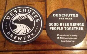 Deschutes Brewery Beer Drink Coaster Mat Bend Oregon