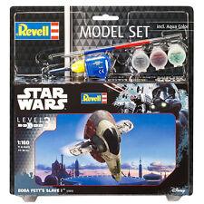 REVELL Star Wars Boba Fett'S Slave I Set di MODELLO (livello 3) (Scala 1:160) 63610 NUOVE
