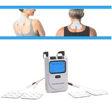 TENS Gerät Reizstromgerät inkl. 5 Elektroden gegen Nacken Rücken Kopf Schmerzen
