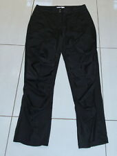 Womens size S (10) black satiny look ruched pants made by BOO RADLEY