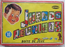 Jeu de société 10 Juegos Reunidos Boîte de jeux Geyper
